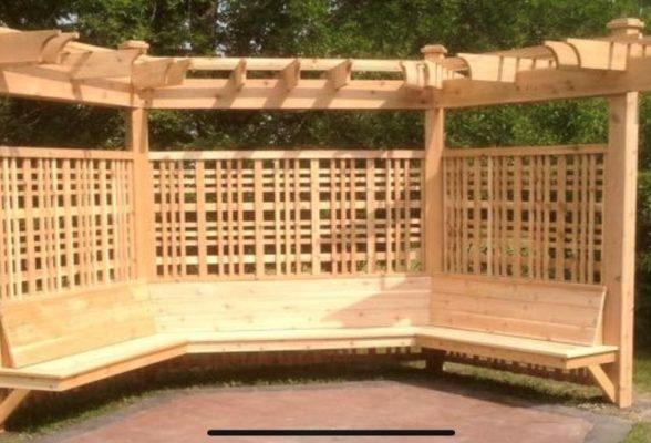 Large Pergola Structure